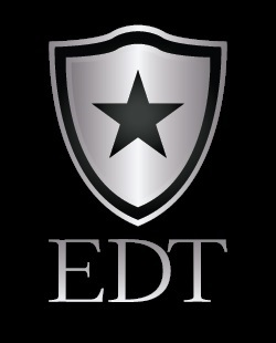 EDT Logo - black